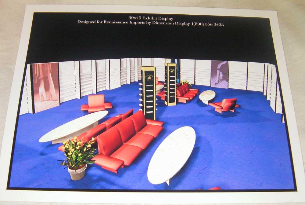 3D tradeshow display design by shelly perlman kramer 2