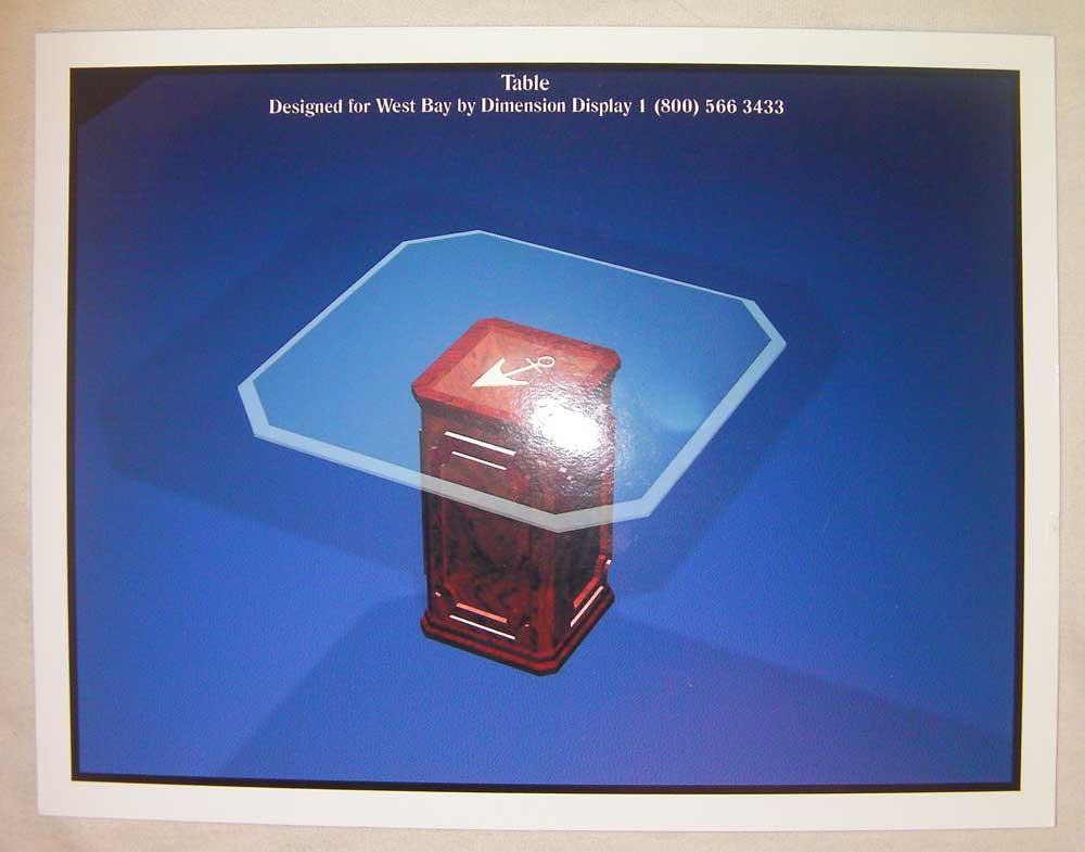 3D tradeshow display design by shelly perlman kramer 3