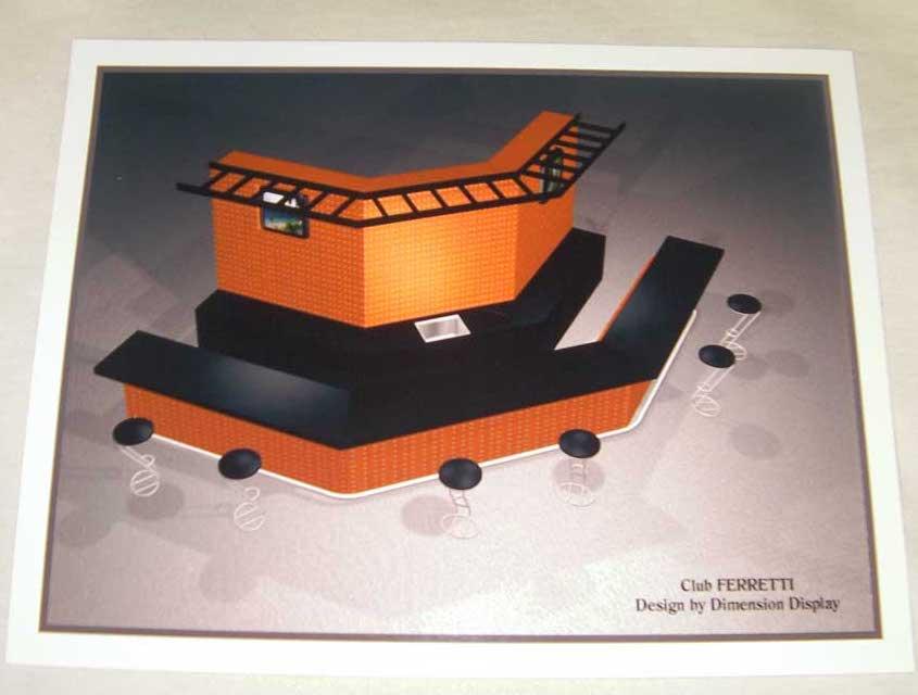 3D tradeshow display design by shelly perlman kramer 5