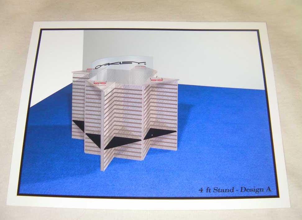 3D tradeshow display design by shelly perlman kramer 6