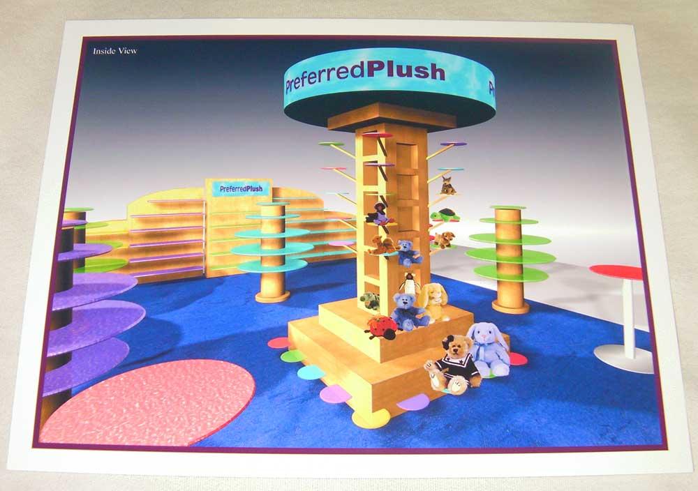 3D tradeshow display design by shelly perlman kramer 8